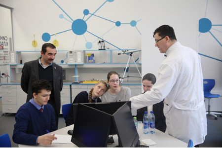 Московские школьники познакомились со «Средой Просвещения»
