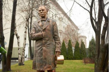 Во дворе Дома Российского исторического общества в Москве открыли памятник П.А. Вяземскому