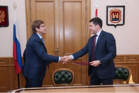 Калининградская область и группа компаний «Просвещение» объединили усилия для развития образования в регионе