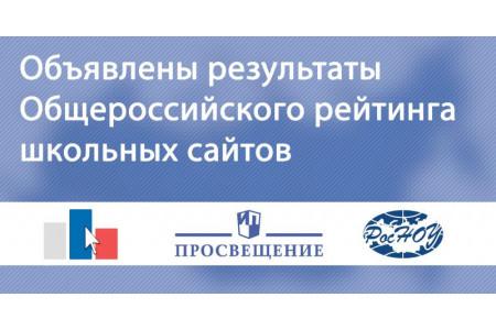 Подведены итоги XI Общероссийского рейтинга школьных сайтов — теперь с соцсетями