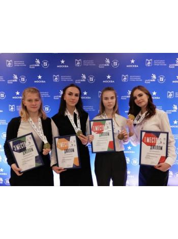 Группа компаний «Просвещение» наградила победителей чемпионата «Московские мастера» по стандартам WorldSkills Russia