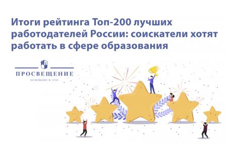 «Просвещение» в рейтинге лучших работодателей России