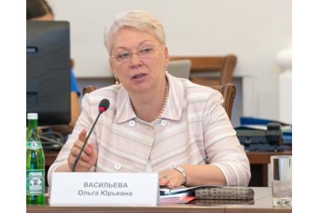 Ольга Васильева поздравила педагогов с Днем учителя