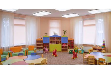 В Москве на Варшавском шоссе построили круглый детский сад на 180 мест